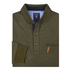 Polo Sweater Langarm