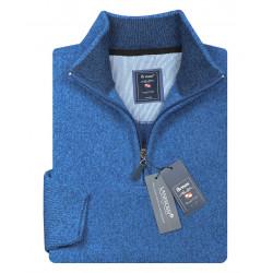 Pullover mit Troyer Zipp
