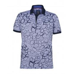 Armas Polo Shirt Kurzarm Print